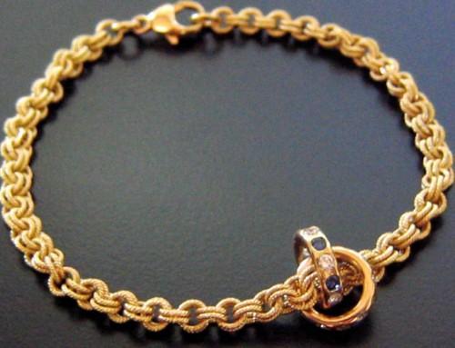 Baby Birthstone Bracelet