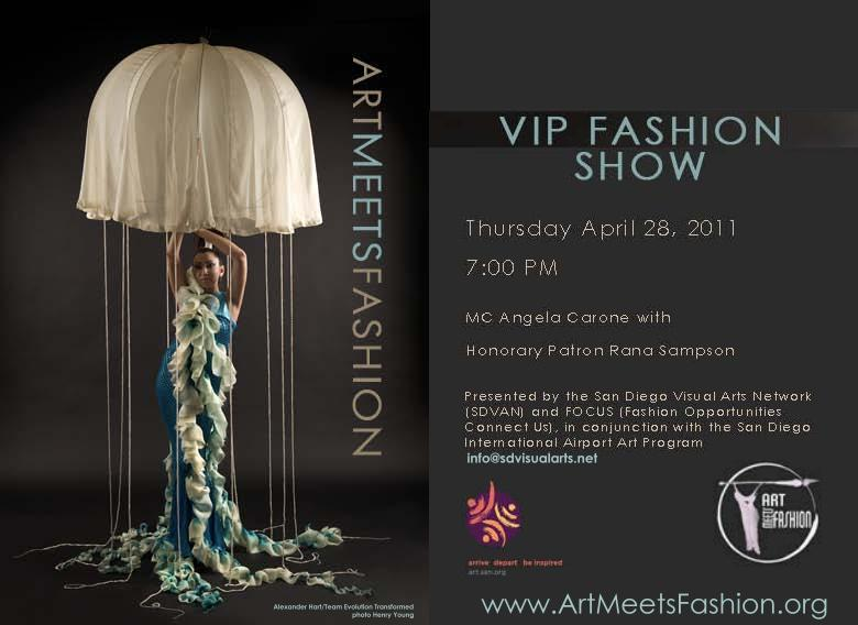 Fashion Designer San Diego Events