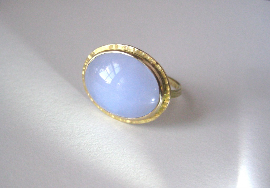 sugarloaf ring and arts products blue crafts silver chalcedony gold rings boylerpf