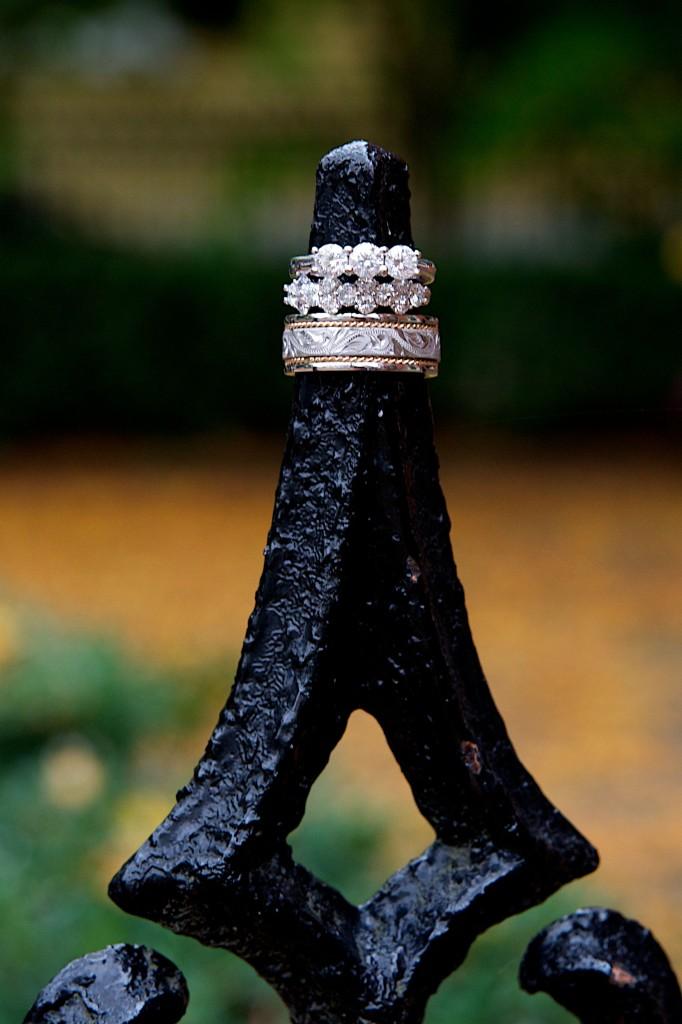 Upcycled Diamonds Ring