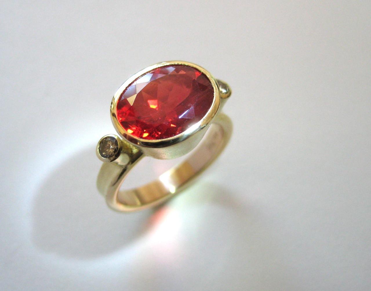 andesine ring