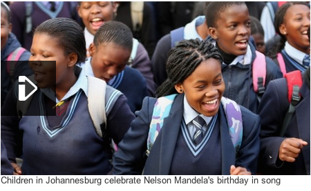 Nelson Mandela Birthday song