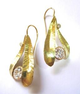 double-olive-leaf-earrings