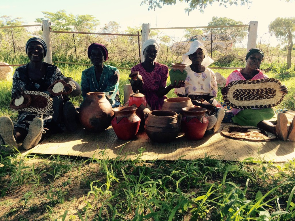 Zvishavane area village artisans