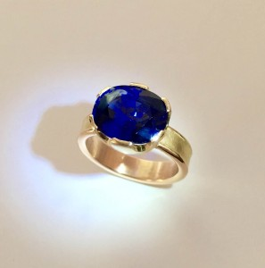 Serenity Blue Sapphire Ring