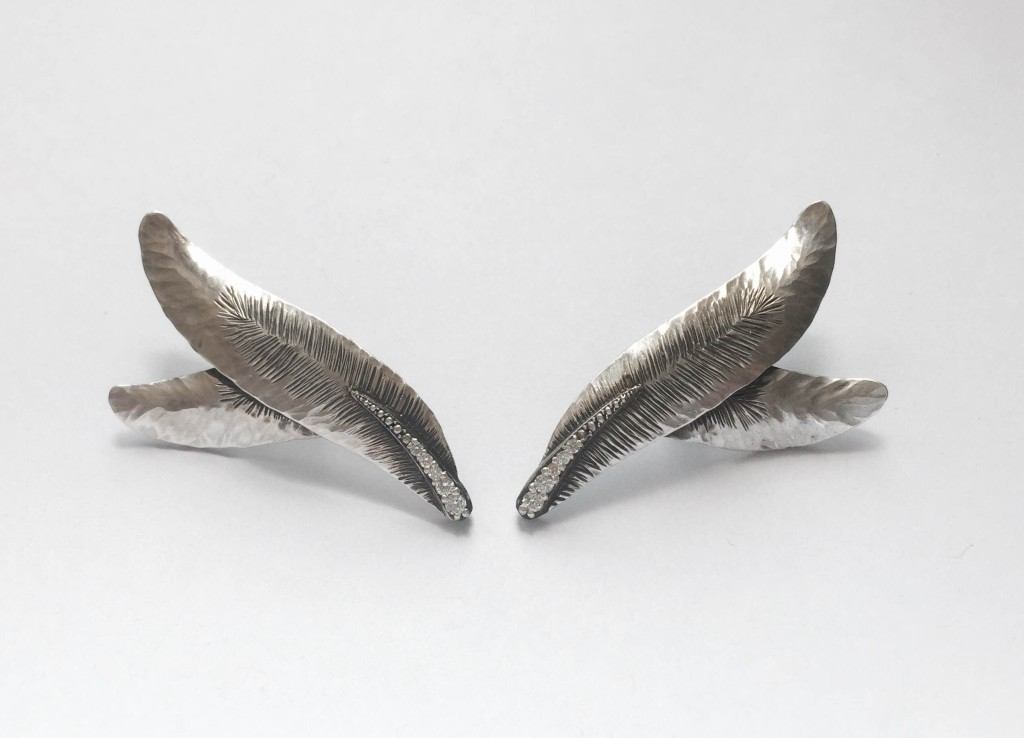 Wing Feather Ear Climber