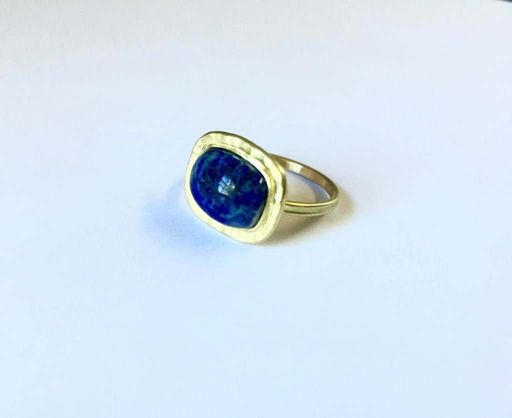Repurposed Lapis Ring