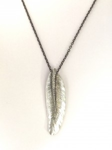 Small Wing Feather Pendant