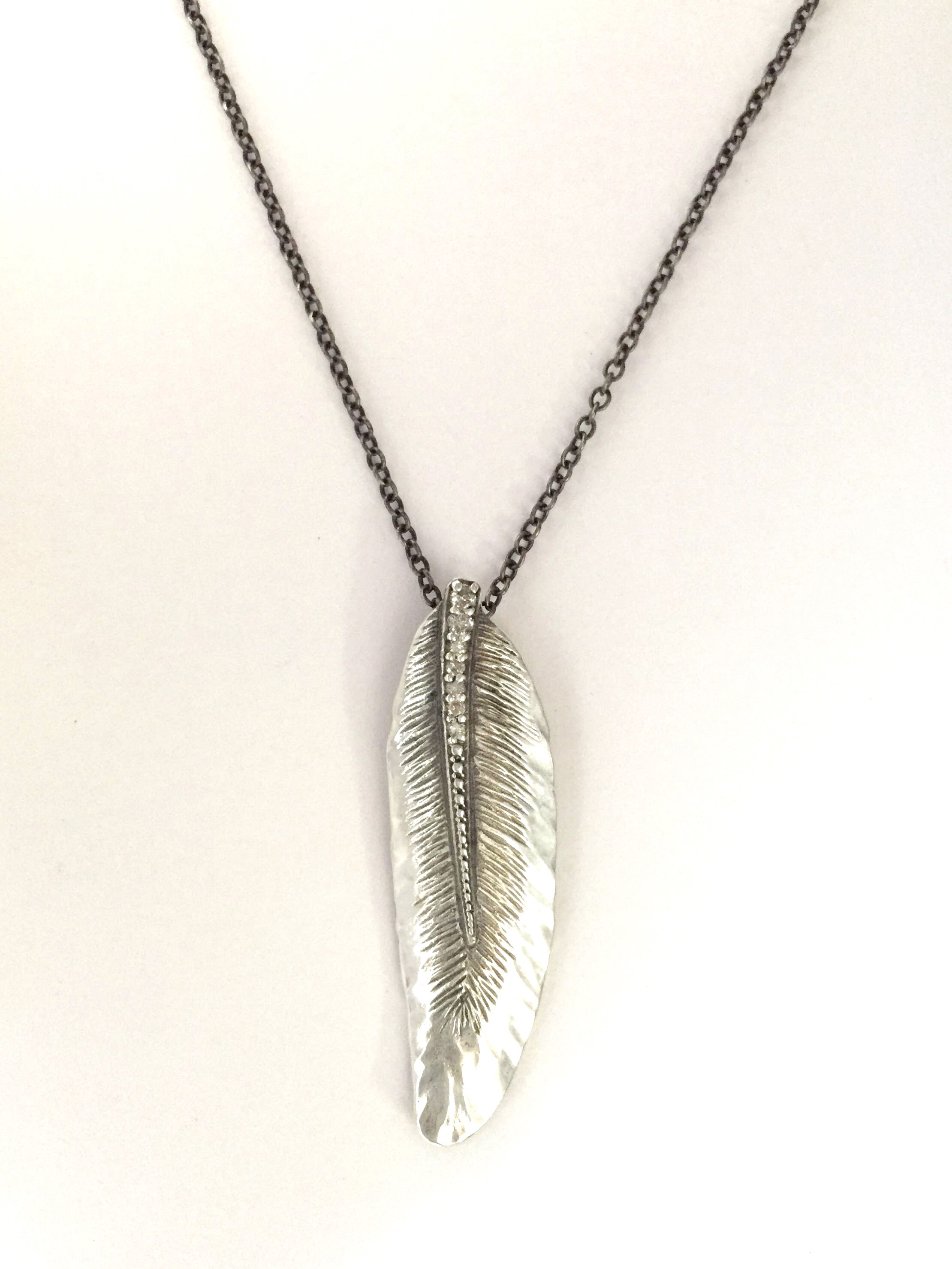 New Pure Flight Wing Feather Pendant