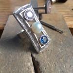 Palladium Frame Ring-bench