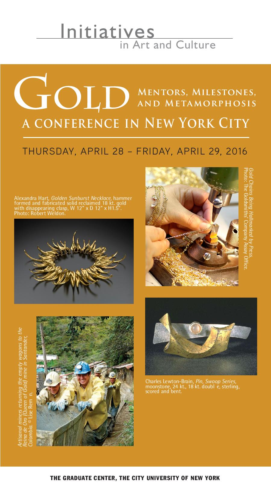 Golden Sunburst on Cover: IAC Conference