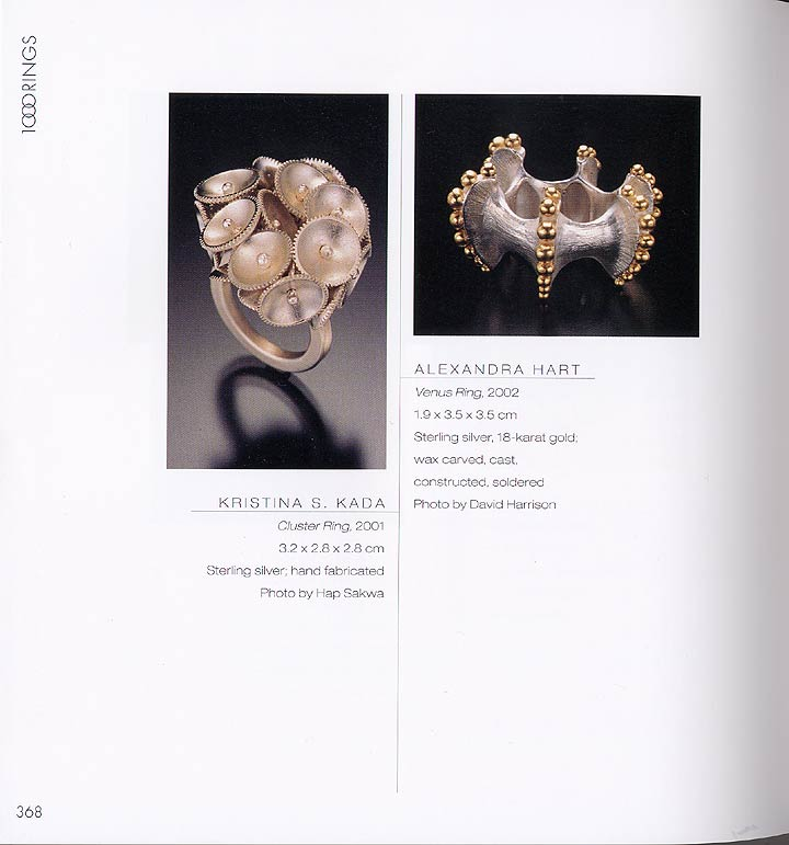 1000 Rings Jewelry Book