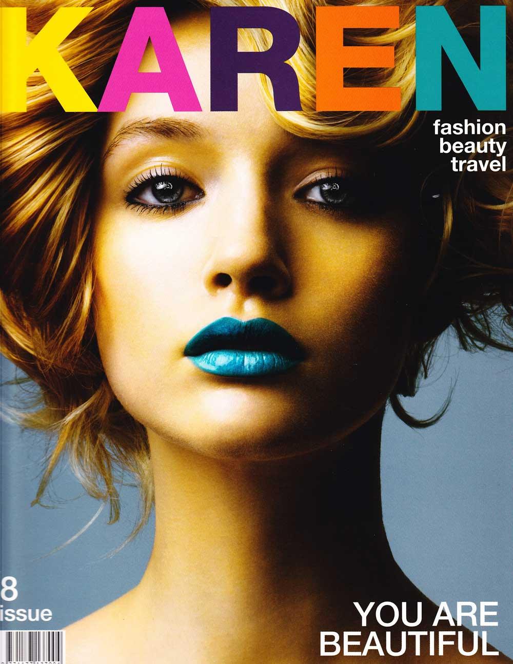 Karen Magazine 2009 press
