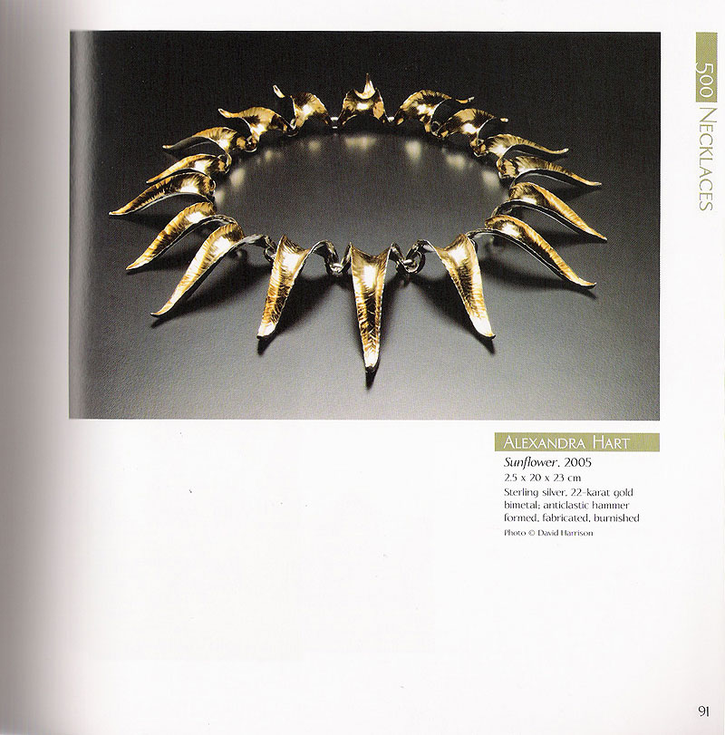 500 necklaces feature in book
