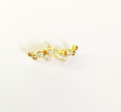 Natural Fancy Multi-Color Diamond Earrings